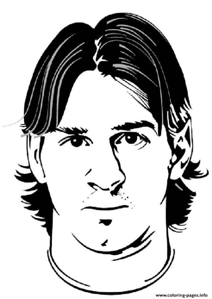 Coloring Lionel Soccer Argentina  Cup Messi Pages World