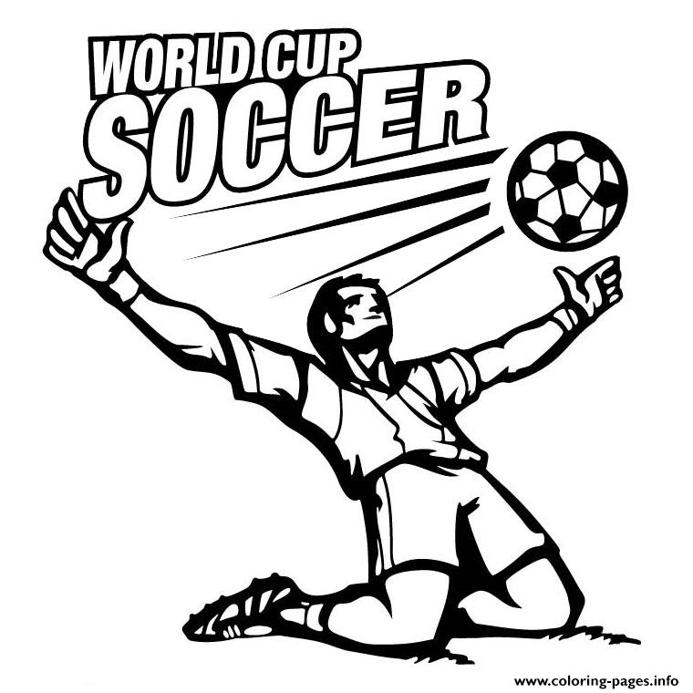 World Cup Soccer Coloring Pages Printable