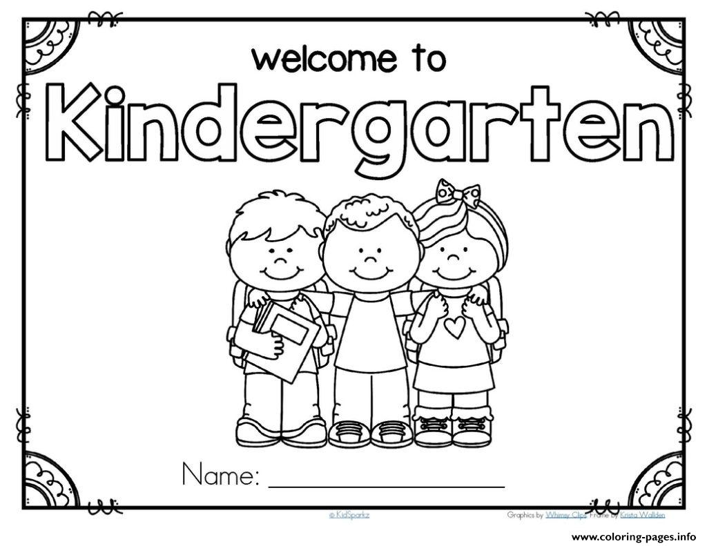 Back To School Preschool Theme Activities Kindergarten coloring pages