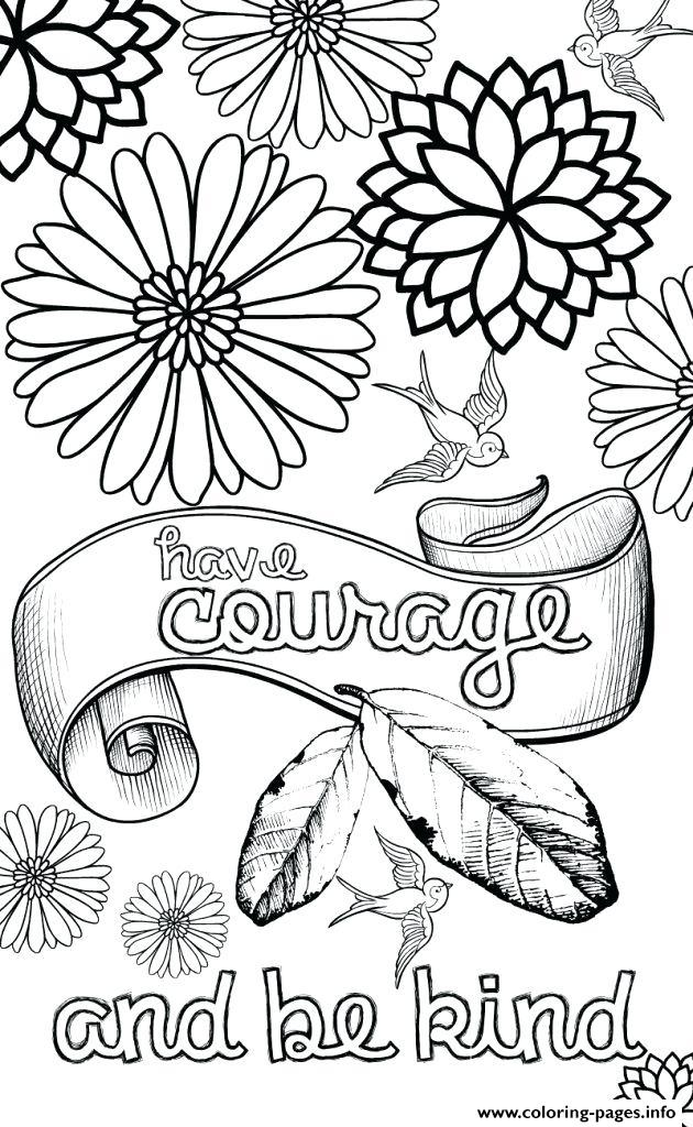 graphic regarding Have Courage and Be Kind Printable named Incorporate Braveness And Be Form For Youngsters Coloring Web pages Printable