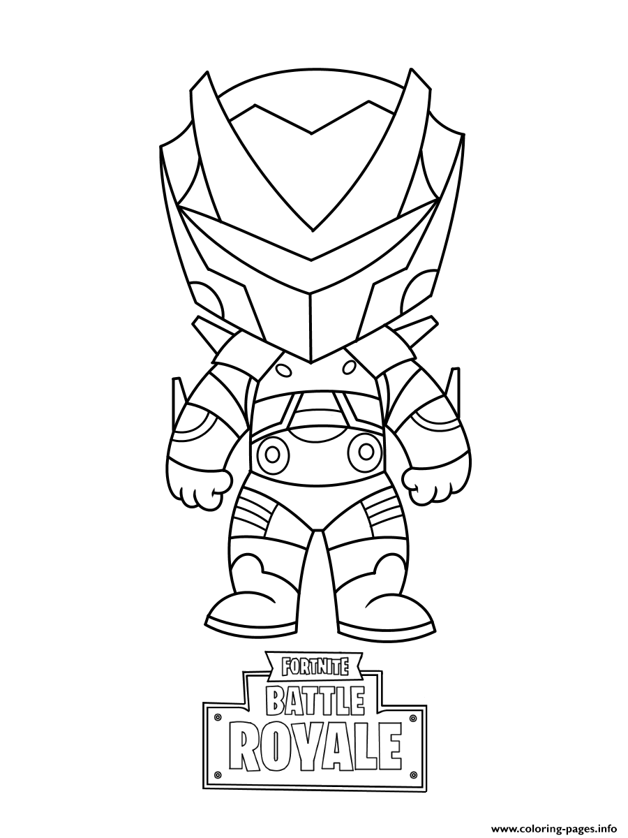 Mini omega fortnite coloring pages printable