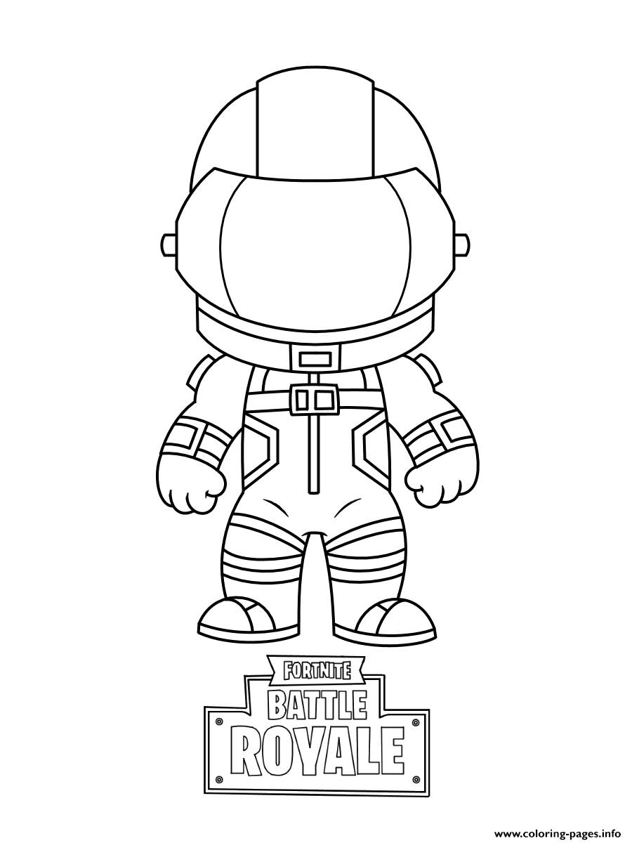 Mini Fortnite Dark Vanguard Coloring Pages Printable