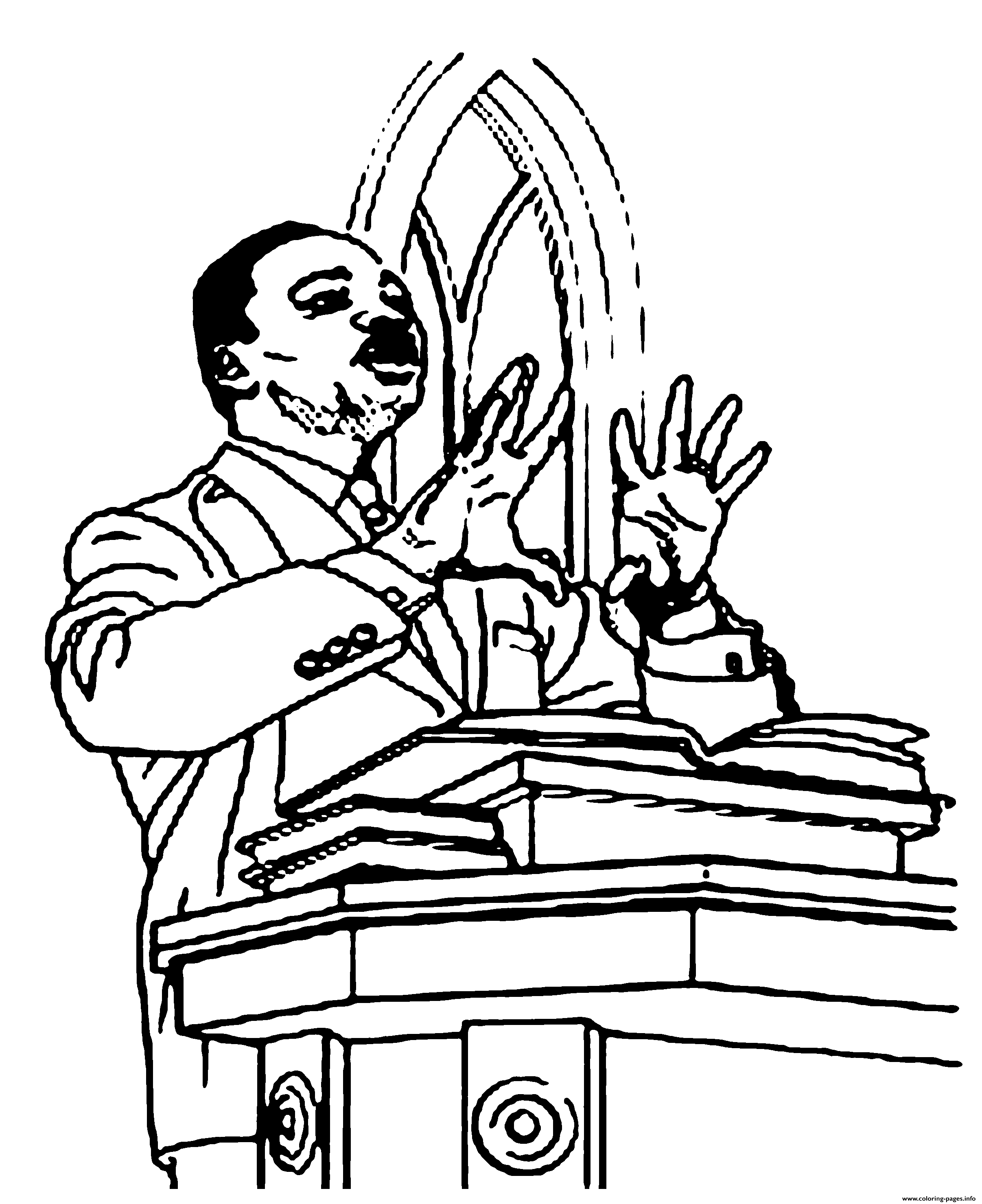 picture regarding Martin Luther King Jr Coloring Pages Printable titled Fresh new Black Background Martin Luther King Jr Coloring Webpages
