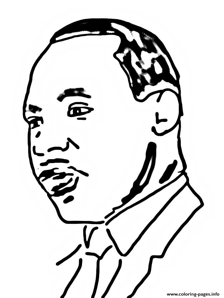 Martin Luther King Day Washington DC coloring pages