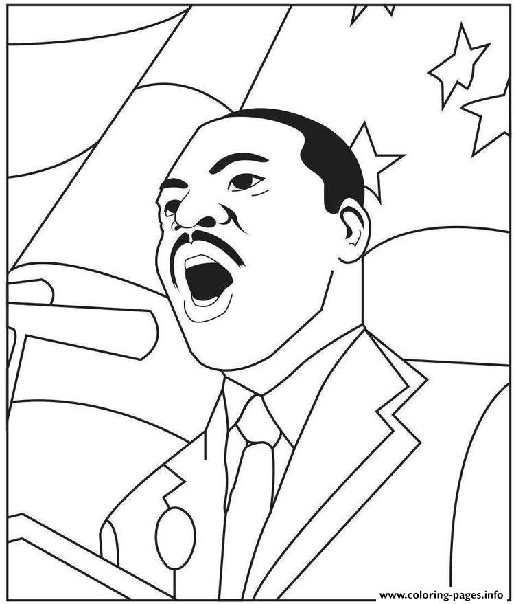 photo relating to Martin Luther King Coloring Sheets Printable named Martin Luther King Jr Working day For Preschool Coloring Web pages Printable