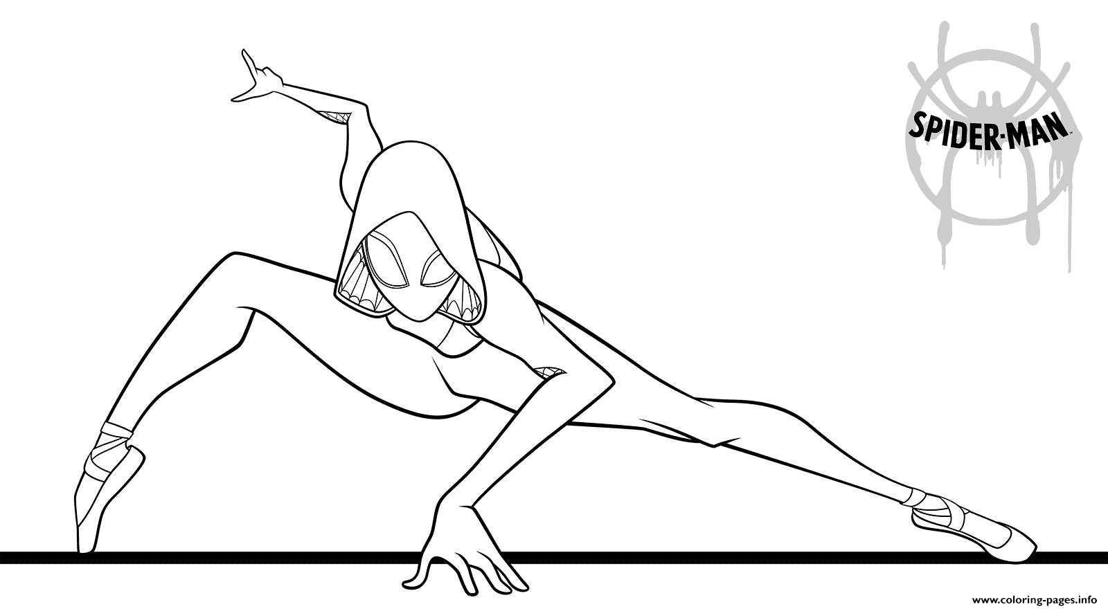 970 Girl Spiderman Coloring Pages Images & Pictures In HD