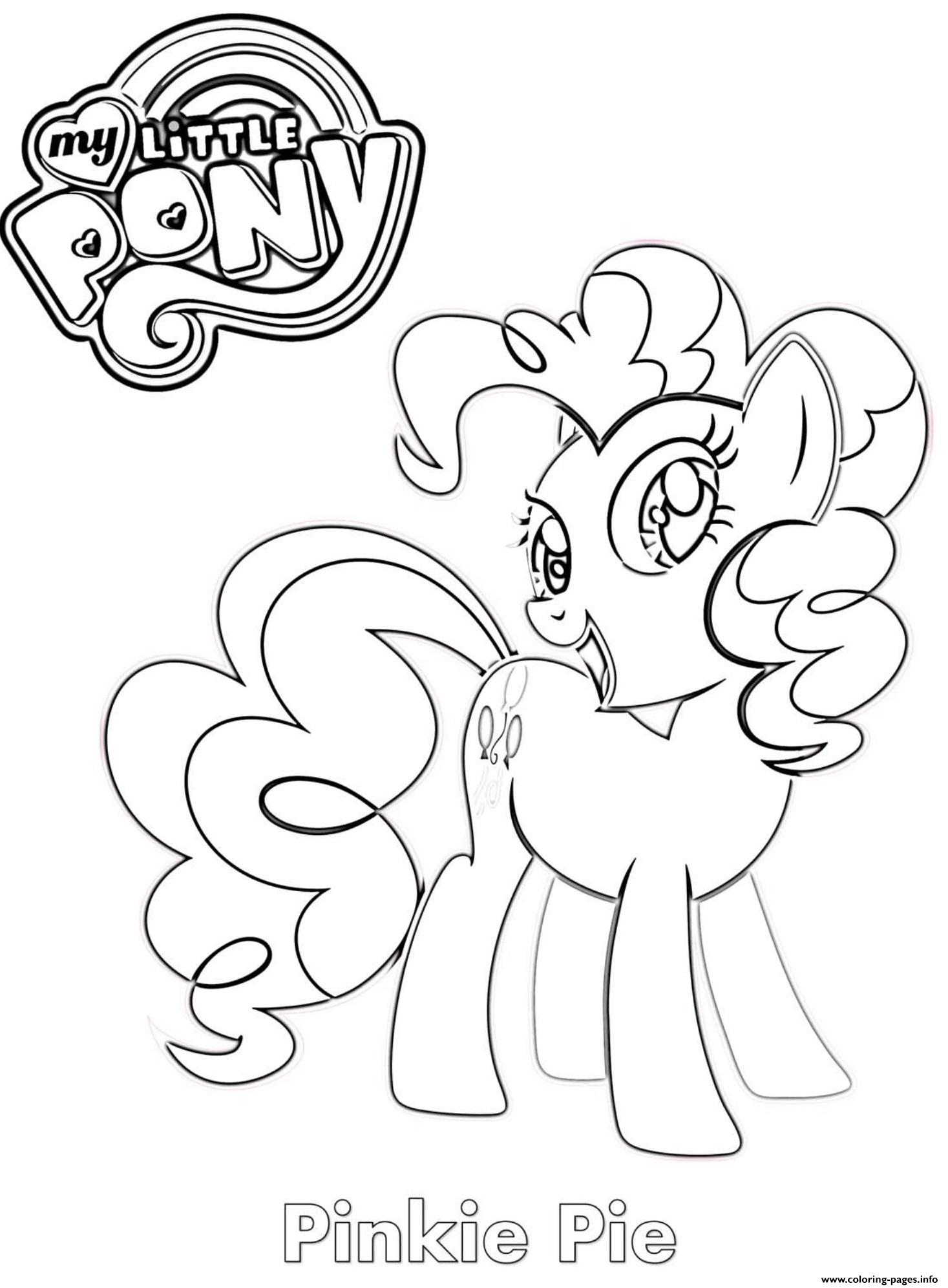 Pinkie Pie Mlp Coloring Pages Printable