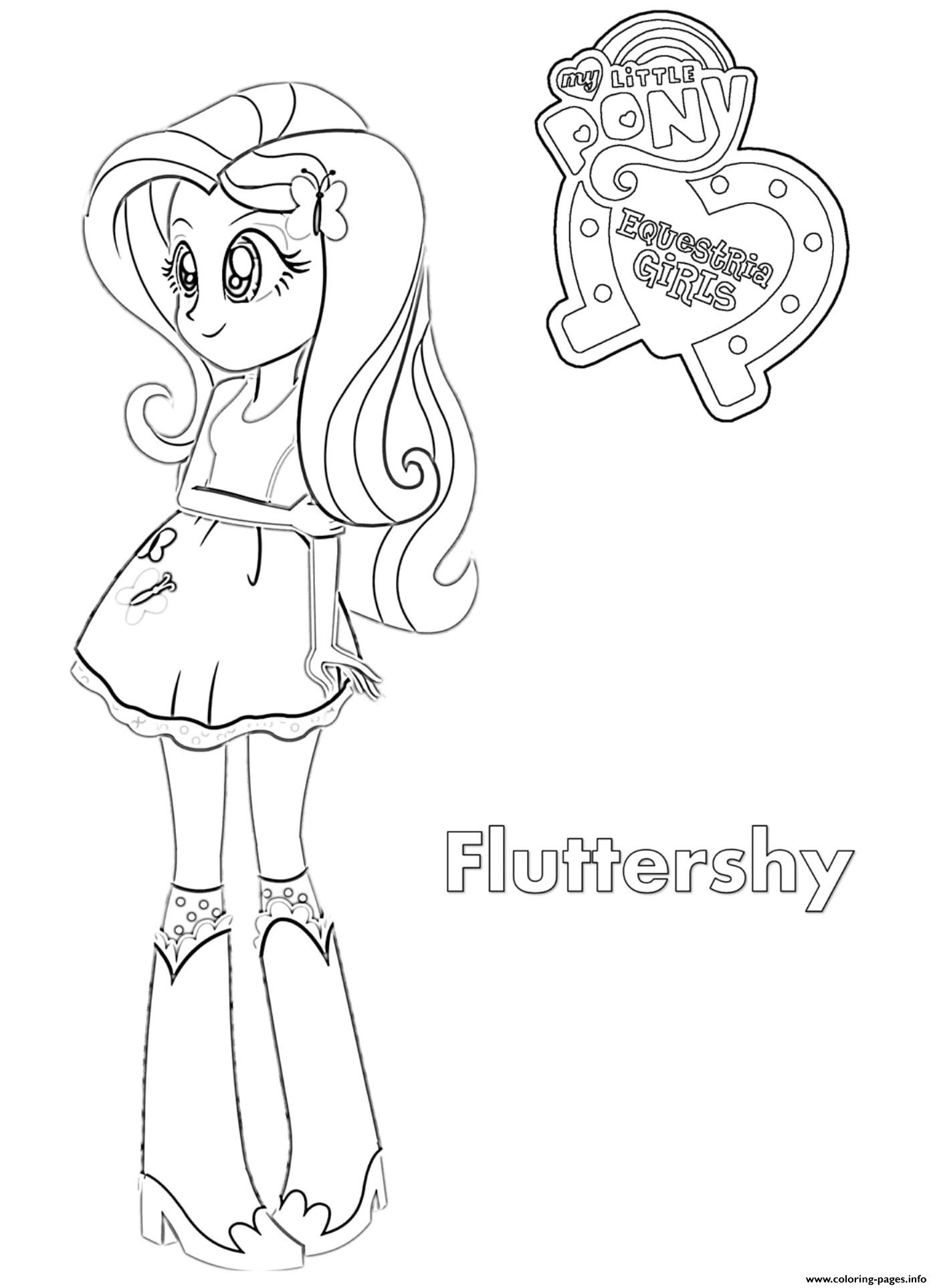 Equestria Girls Coloring Pages Printable