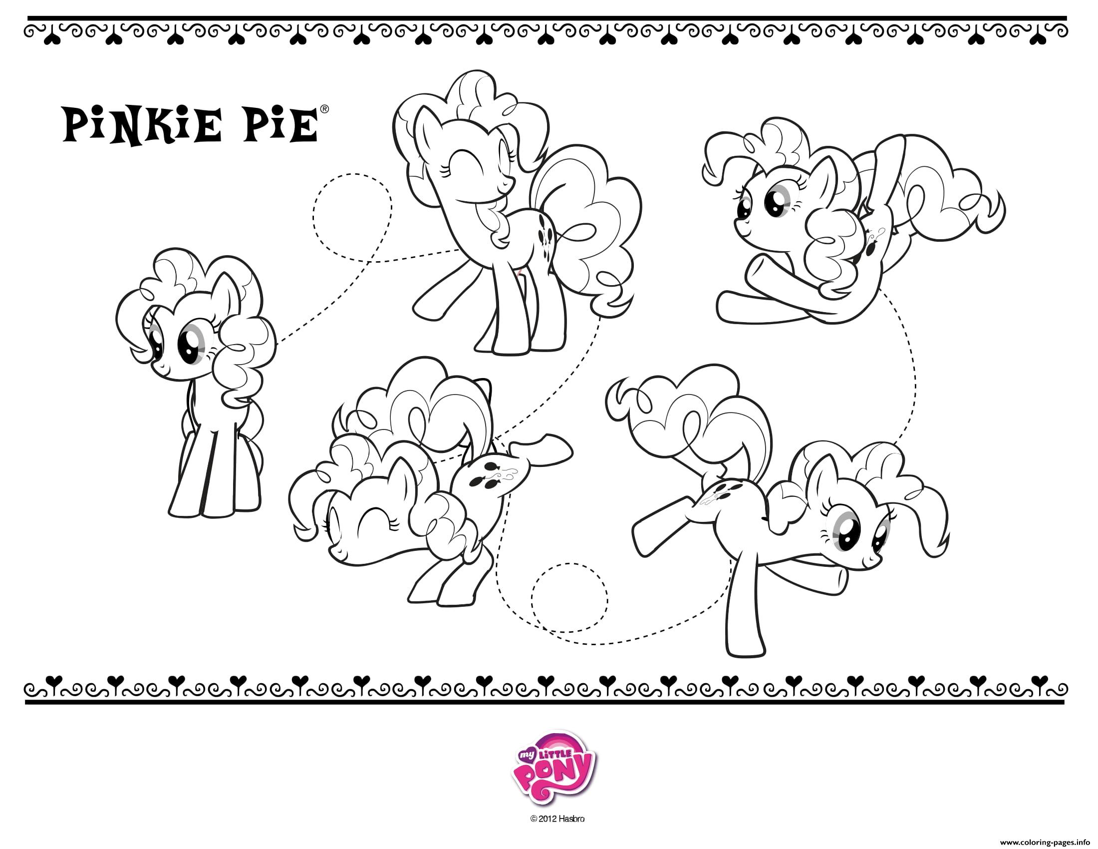 Pinkie Pie My Little Pony Coloring