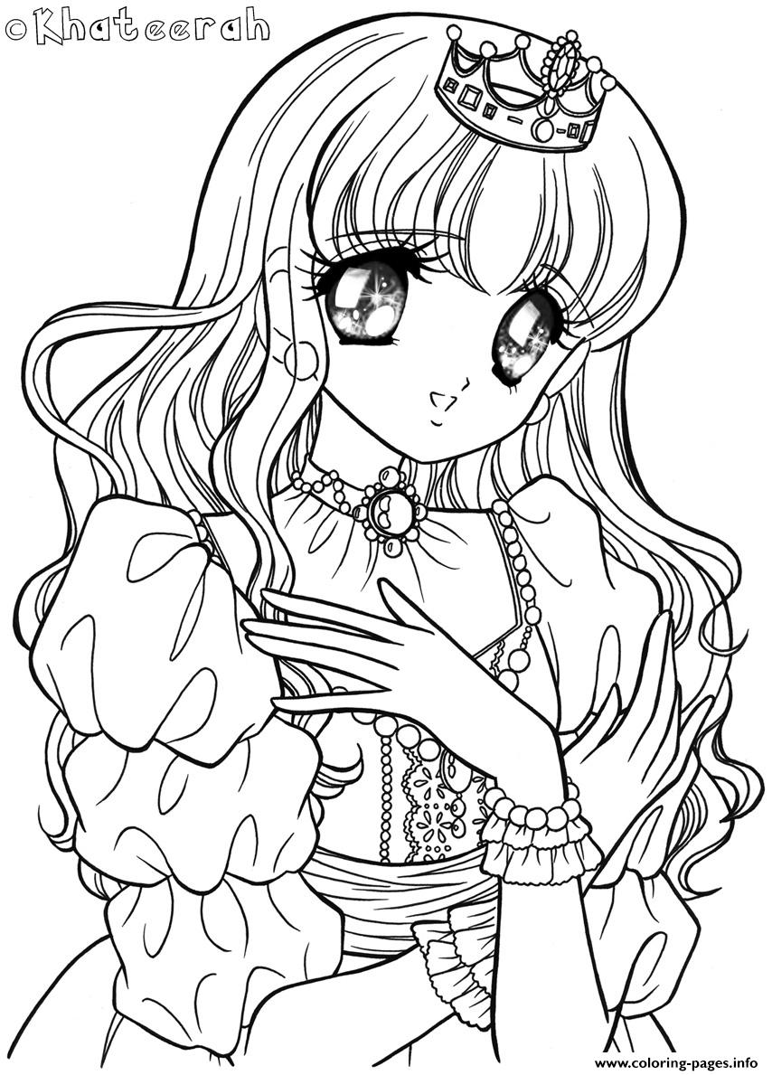 Glitter Force Princess Coloring Pages Printable
