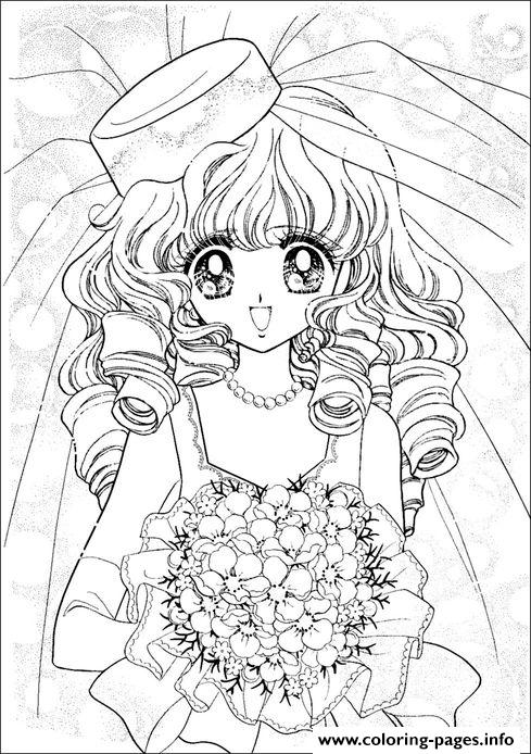 Glitter Force Happy Paradise 1 coloring pages
