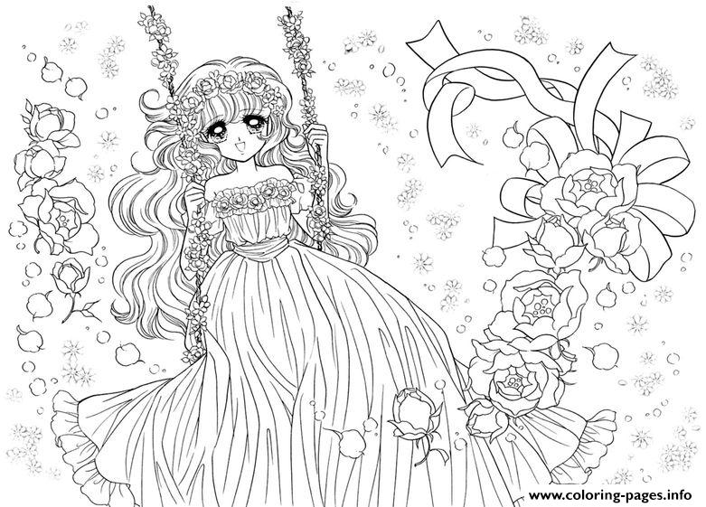 Glitter Force Happy Paradise Teen Coloring Pages Printable