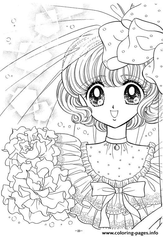 Glitter Force Happy Paradise 2 coloring pages