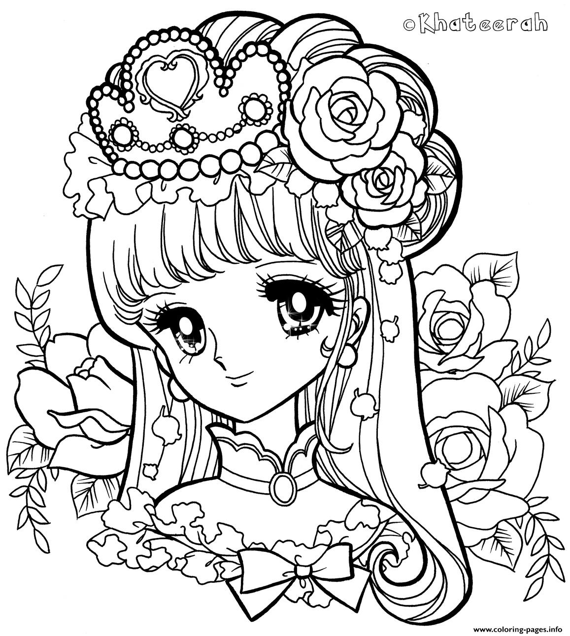 Glitter Force Queen coloring pages