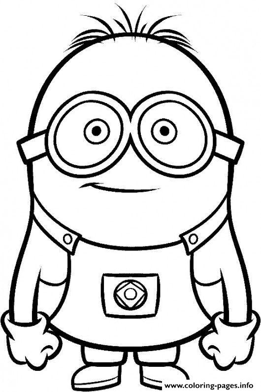 Despicable Me Cartoon coloring pages