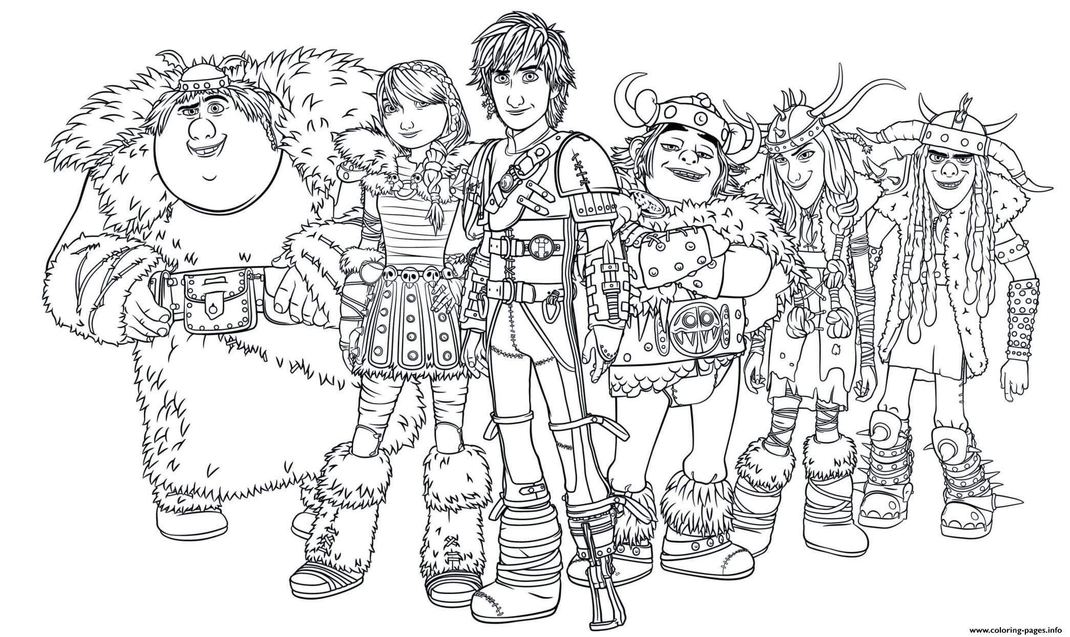 Dragon Riders How To Train Your Dragon Coloring Pages