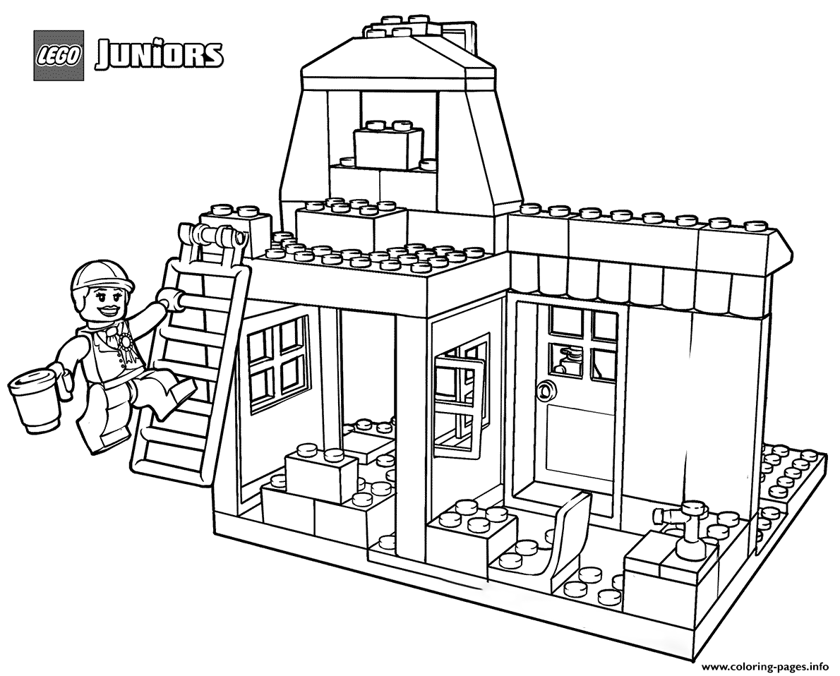 Free Printable Lego Castle Coloring Pages - Coloring Home | 958x1190