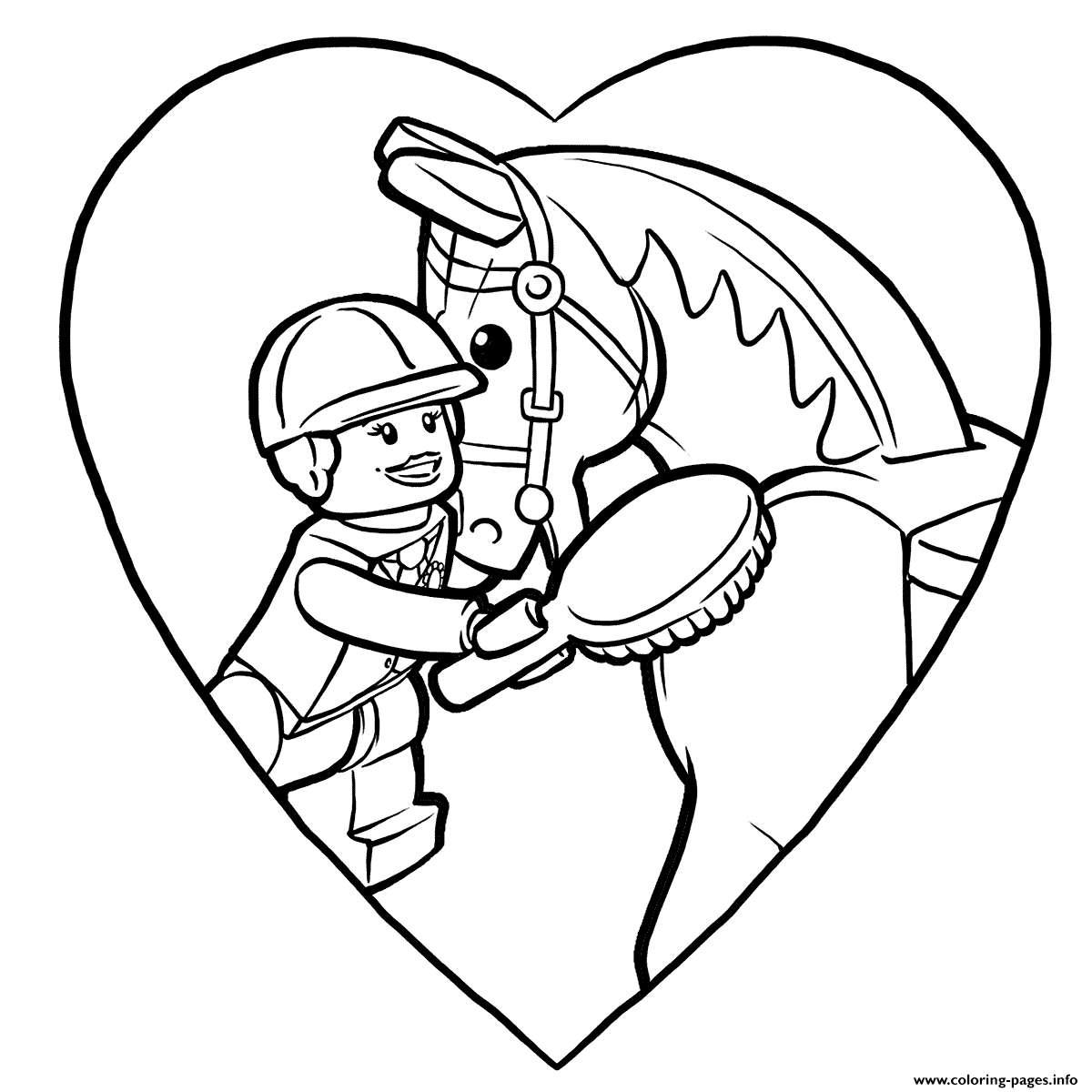 Lego Pony Pals coloring pages