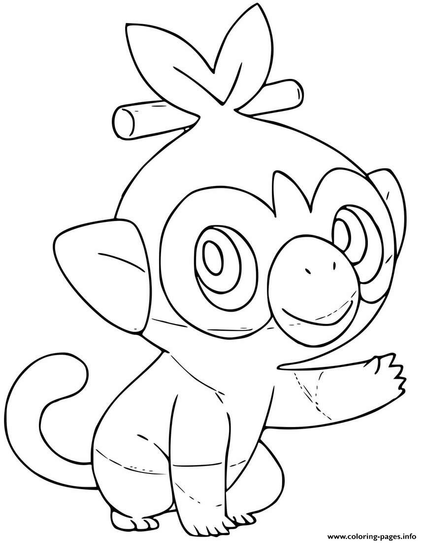 Shield Pokemon From Pokemon Sword - Free Coloring Pages