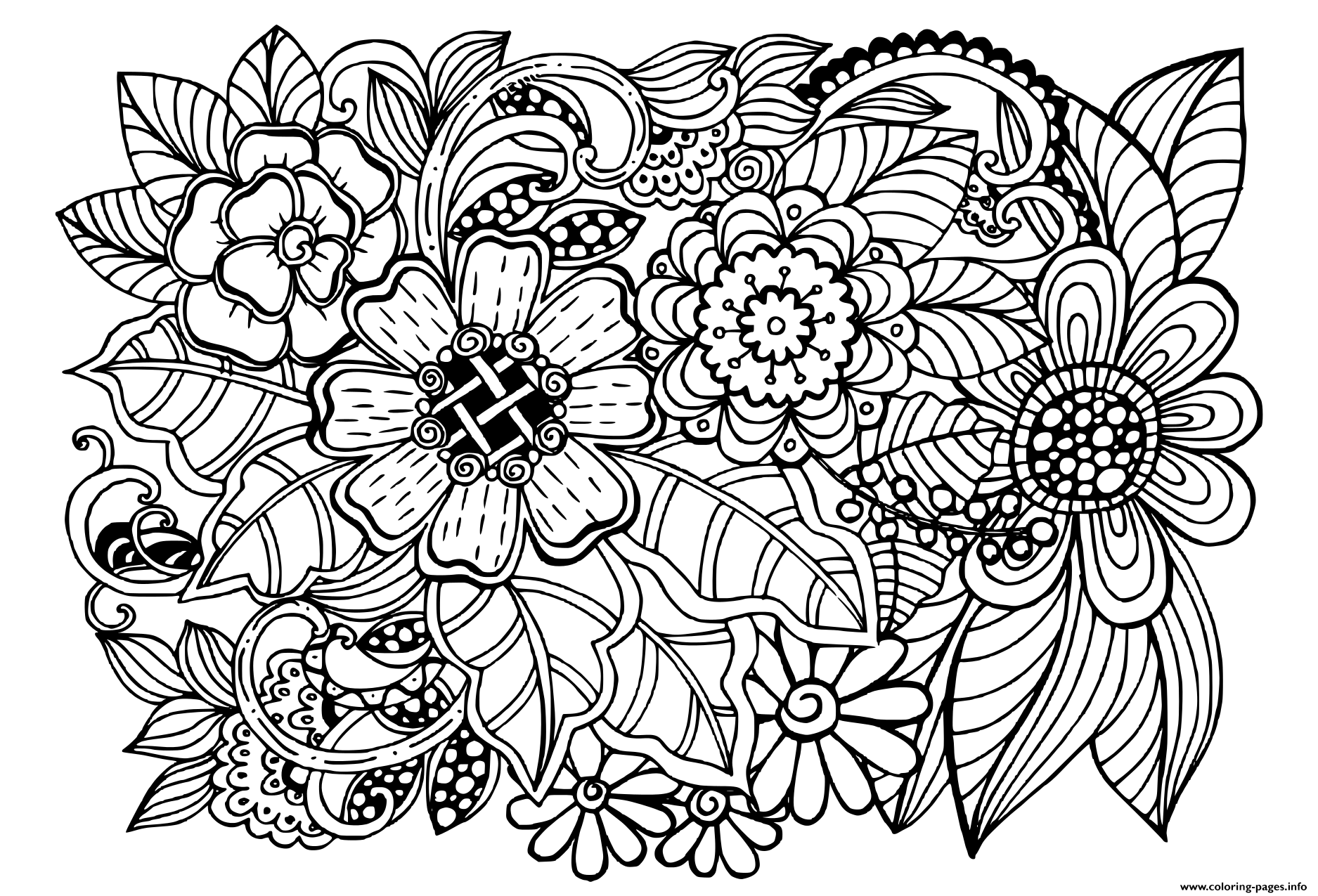 Pattern Coloring Books For Adults