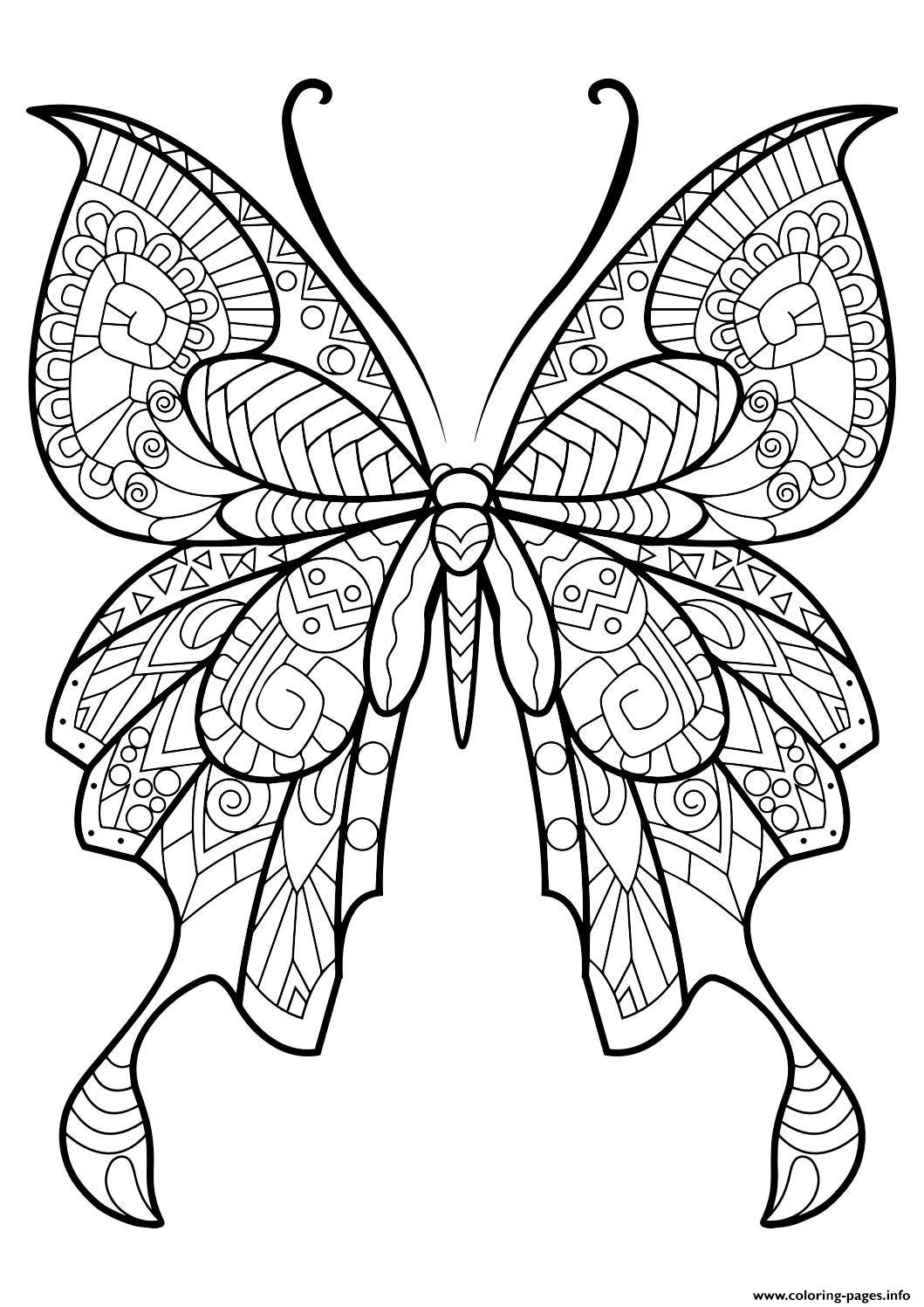 Zentangle Coloring Pages