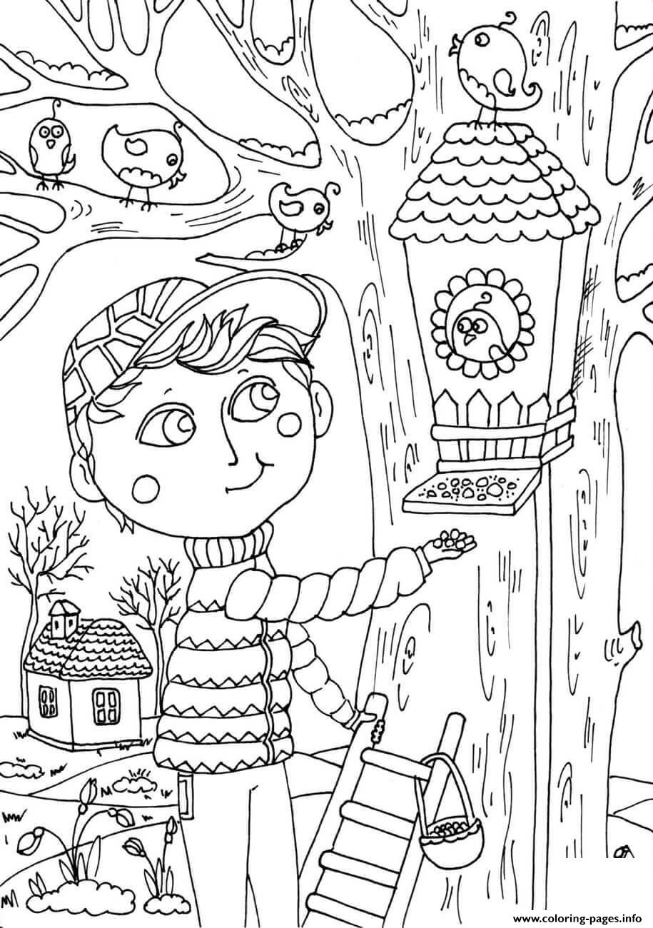 10 Peter Boy In March Spring Coloring Pages Printable