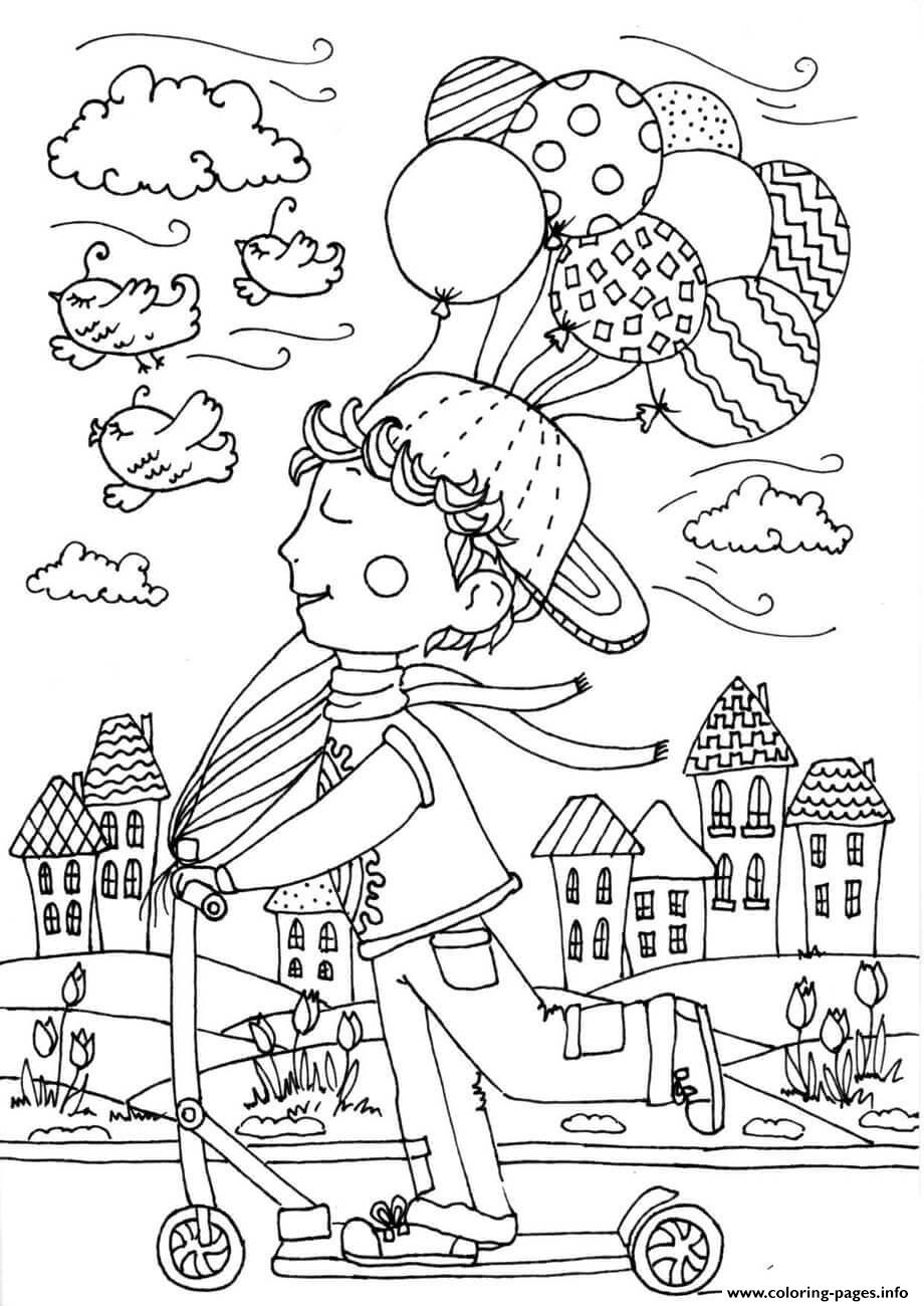 April Coloring Pages Printable | Quote coloring pages, Spring ... | 1300x920