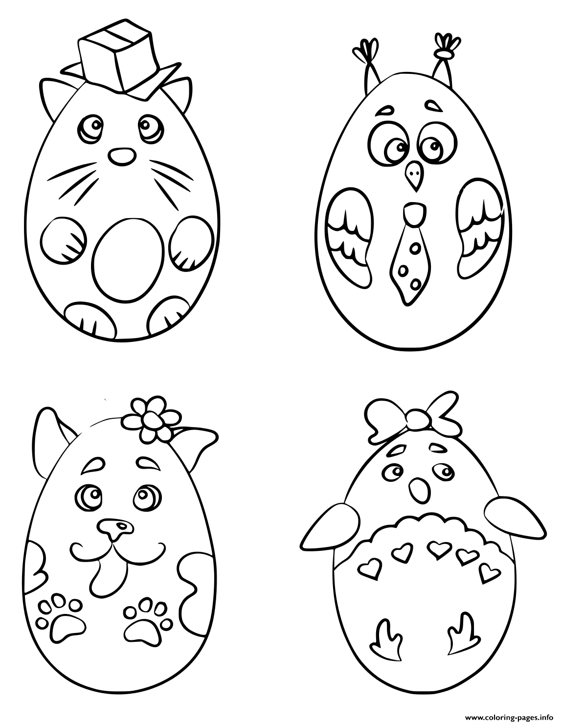 Animals Coloring Pages To Print Cute Animal Coloring Pages ... | 1480x1147