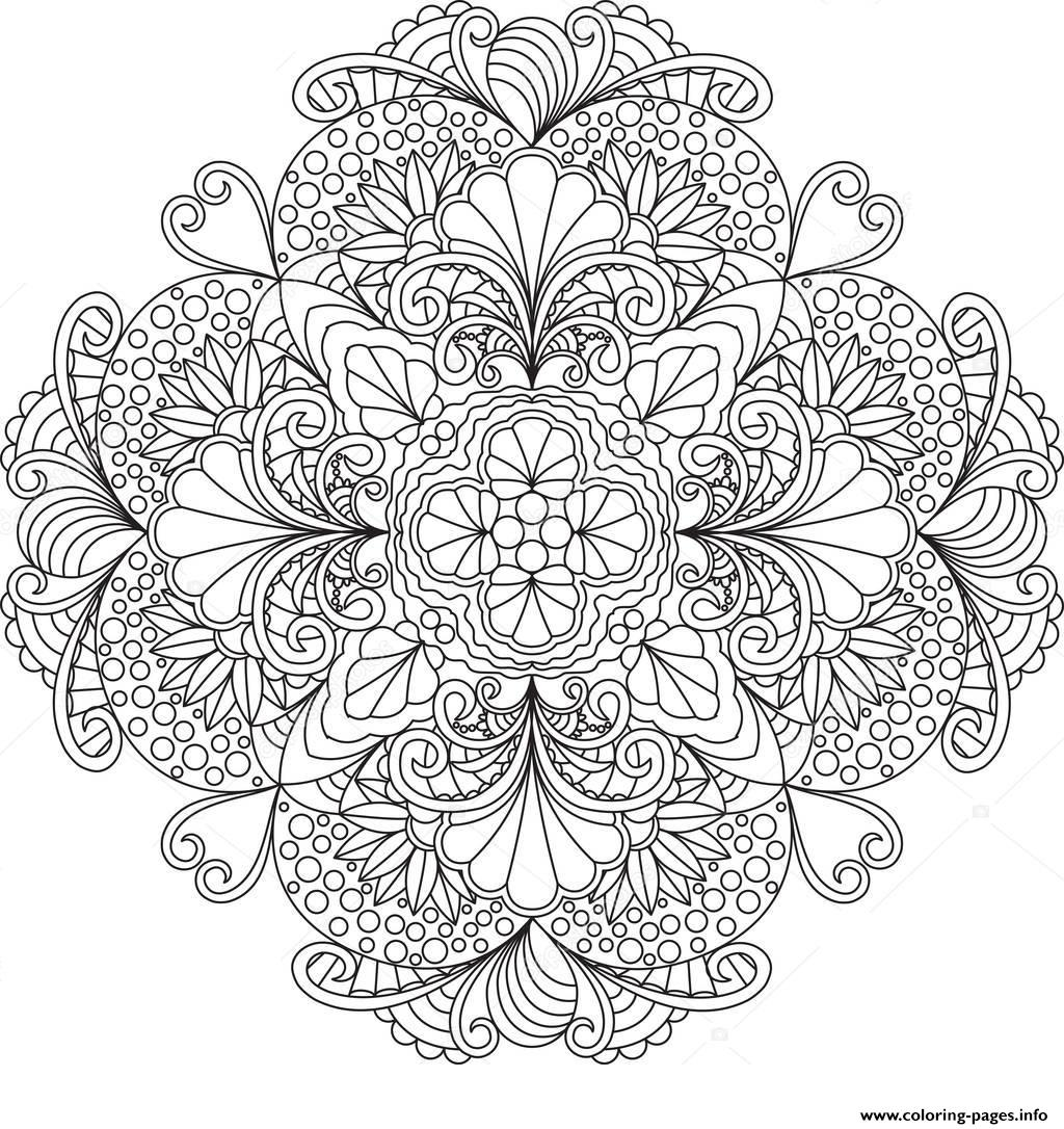 Mandala Sunflower Mandala Coloring Pages Beautiful Cool Vases ... | 1086x1024