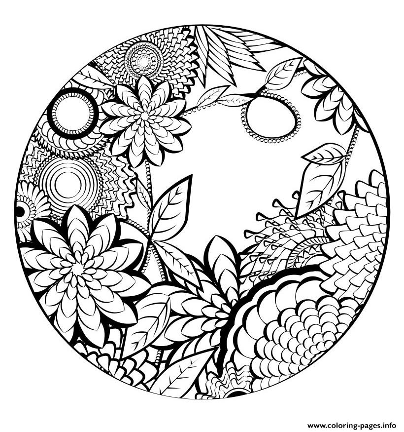 Printable Nature Coloring Pages for Kids - Get Coloring Pages | 875x820