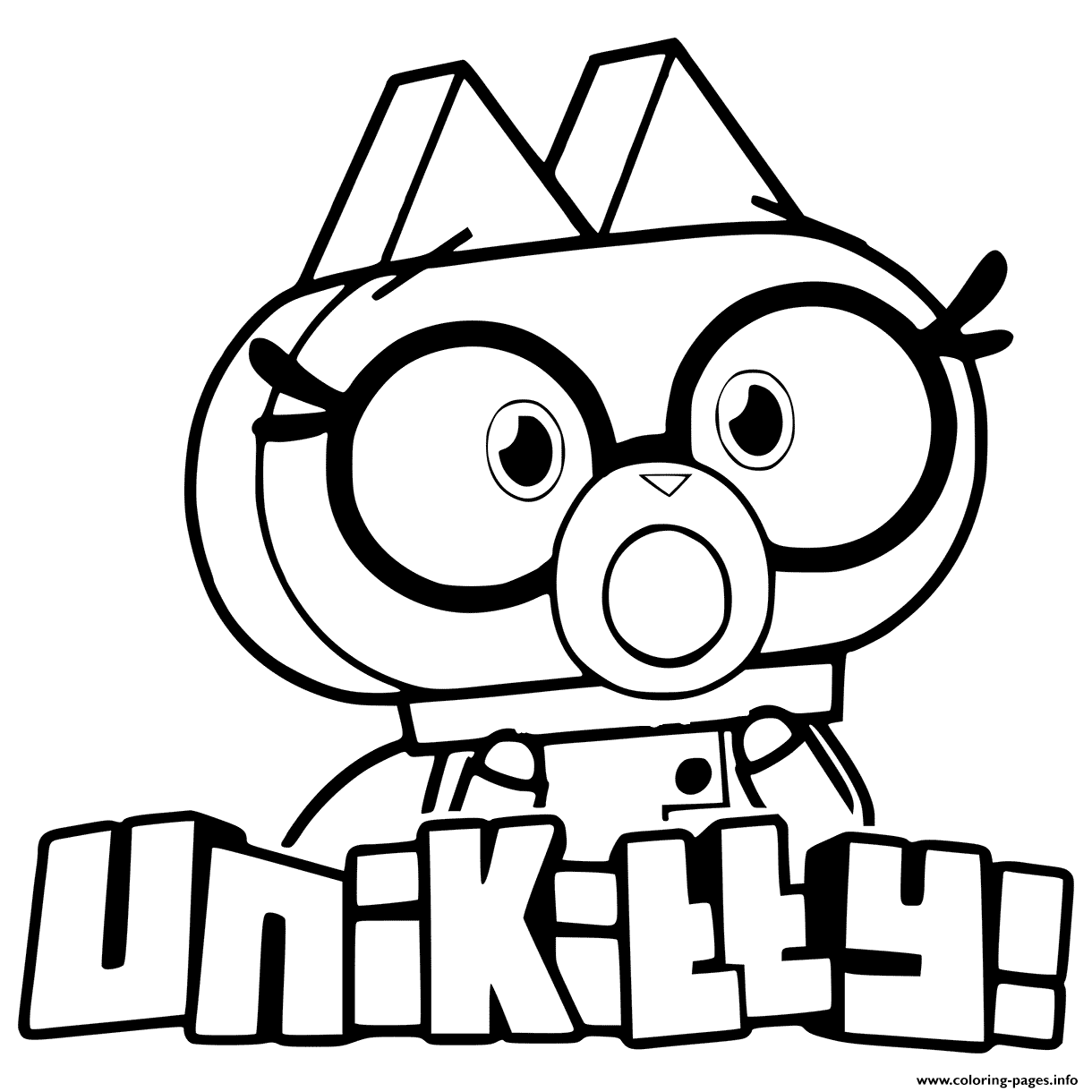 Dr fox from unikitty coloring pages printable