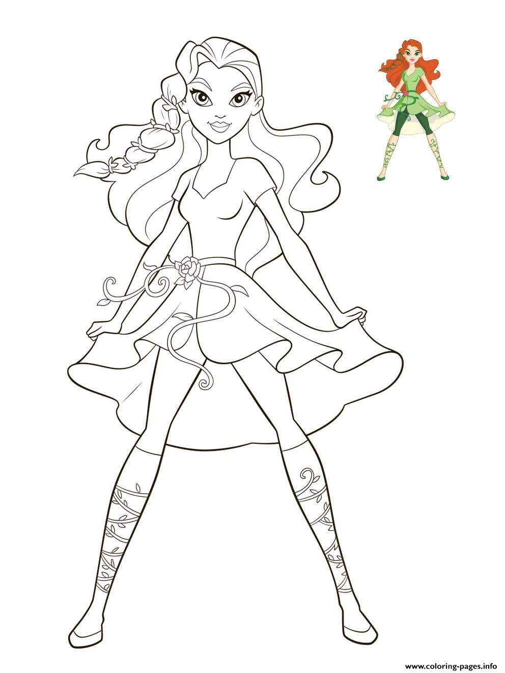 Poison Ivy DC Super Hero Girls