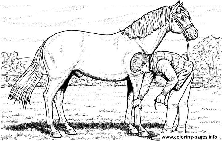 Picking Hooves coloring pages
