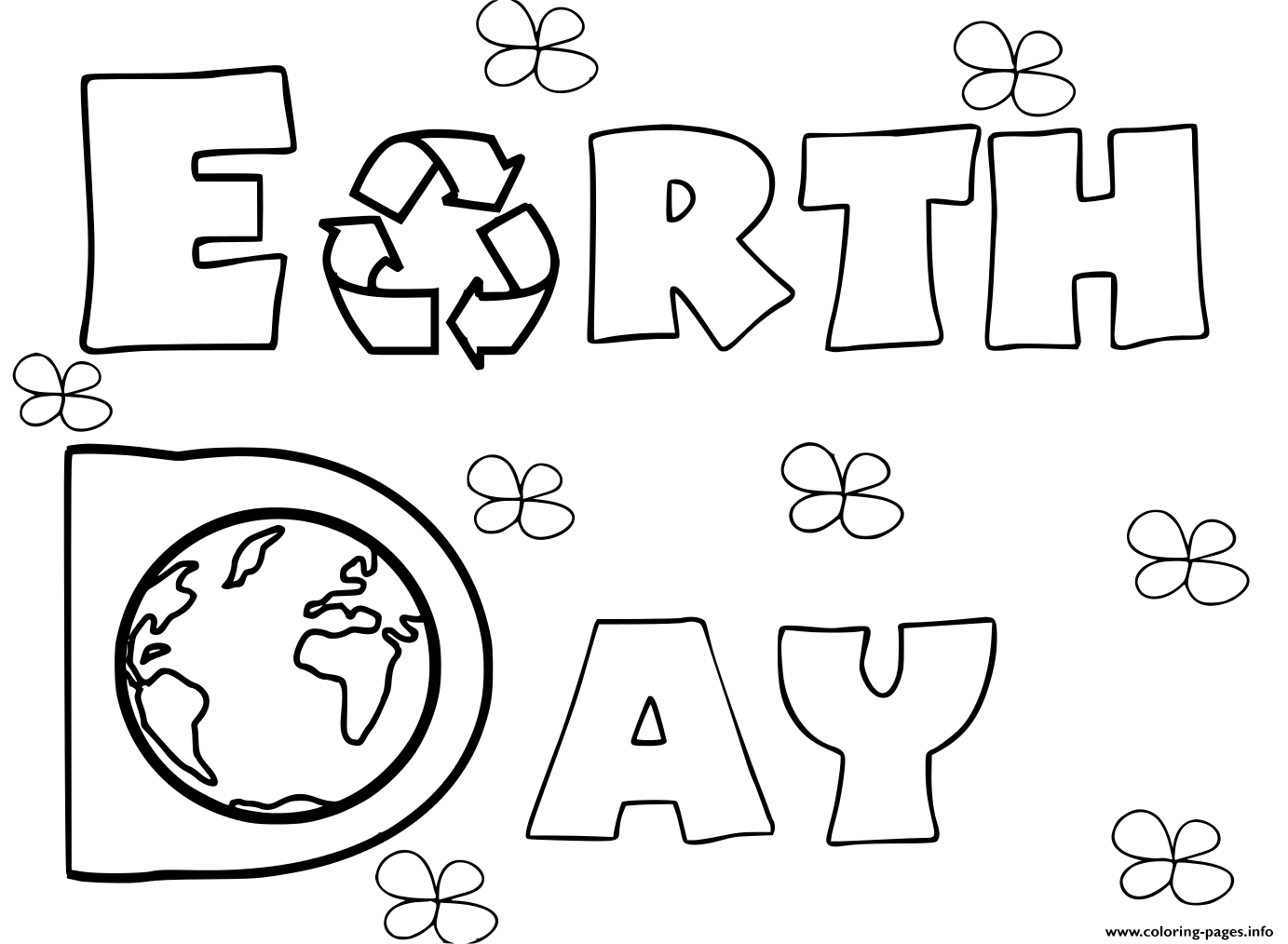 - Earth Day Activities Coloring Pages Printable