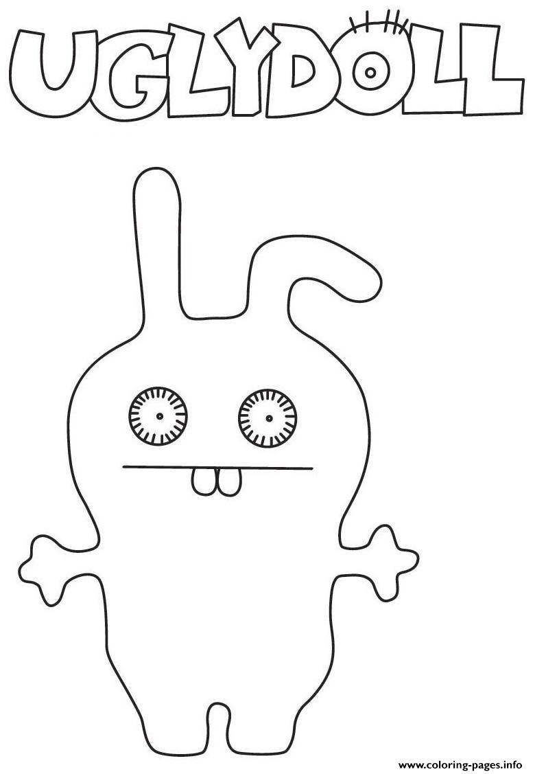 Ugly Dolls Kids 2 Coloring Pages