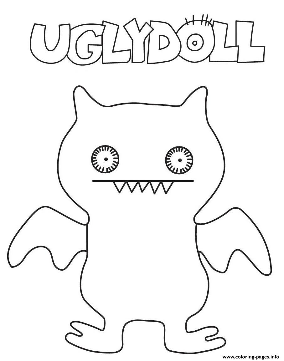 coloring pages of ugly dolls | Funny Ugly Dolls For Kids Coloring Pages Printable