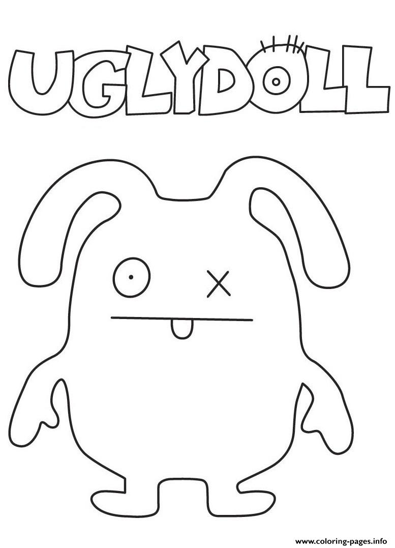 coloring pages of ugly dolls | Ugly Dolls Movie Coloring Pages Printable
