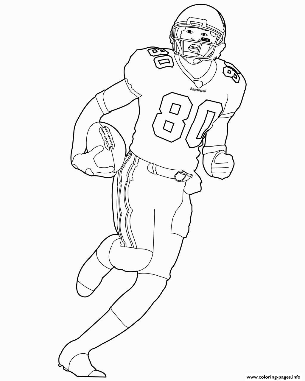 NFL Player For Kids coloring pages