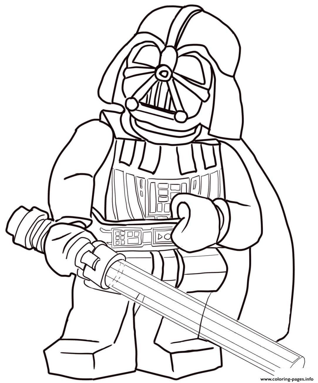 Lego Star Wars 129 coloring pages