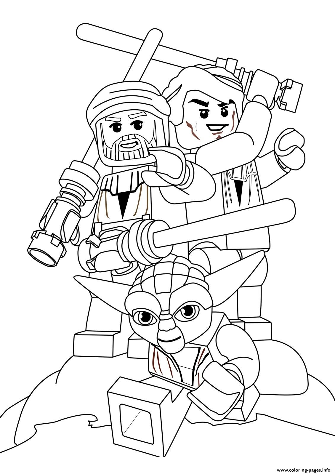 Lego Star Wars 78 coloring pages