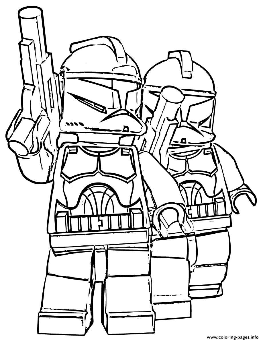 Lego Star Wars 60 coloring pages