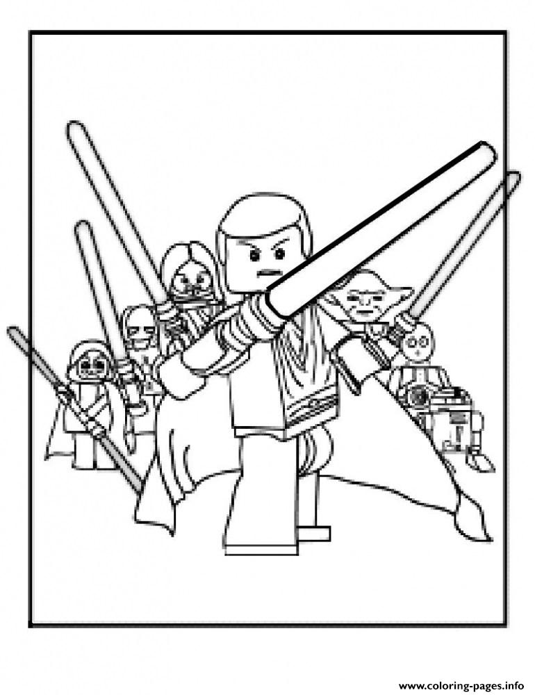 Lego Star Wars 73 coloring pages