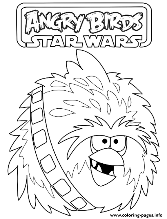 Angry Birds Star Wars 91 coloring pages