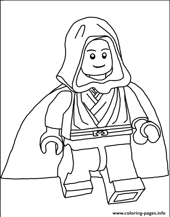 Lego Star Wars 71 Coloring Pages Printable