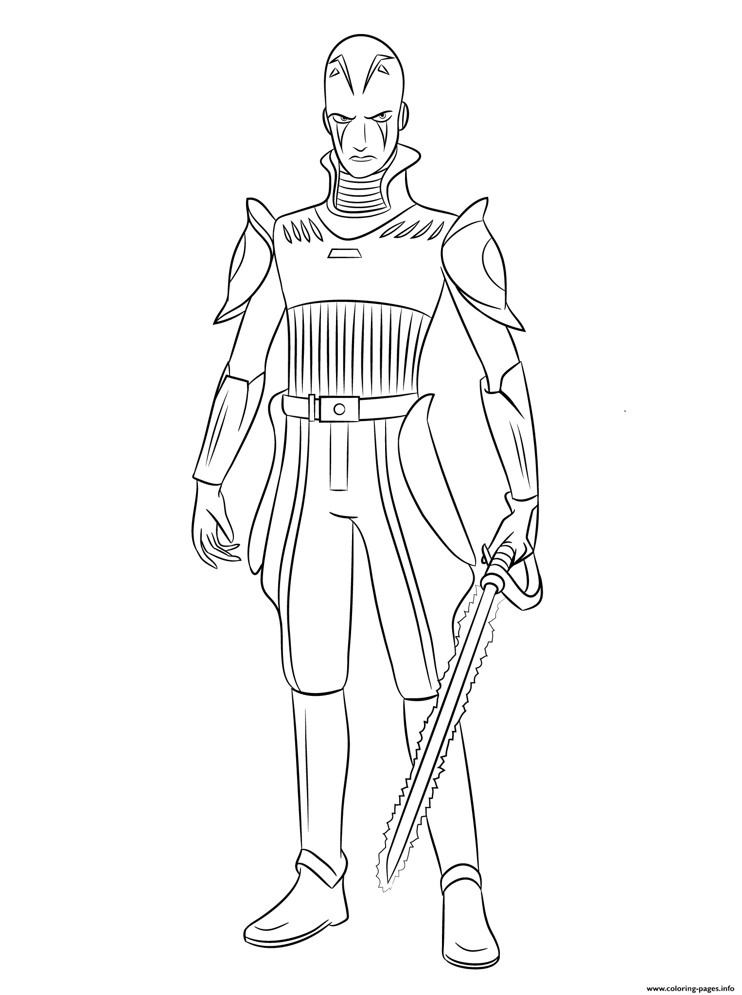 Star Wars Rebels Inquisitors coloring pages
