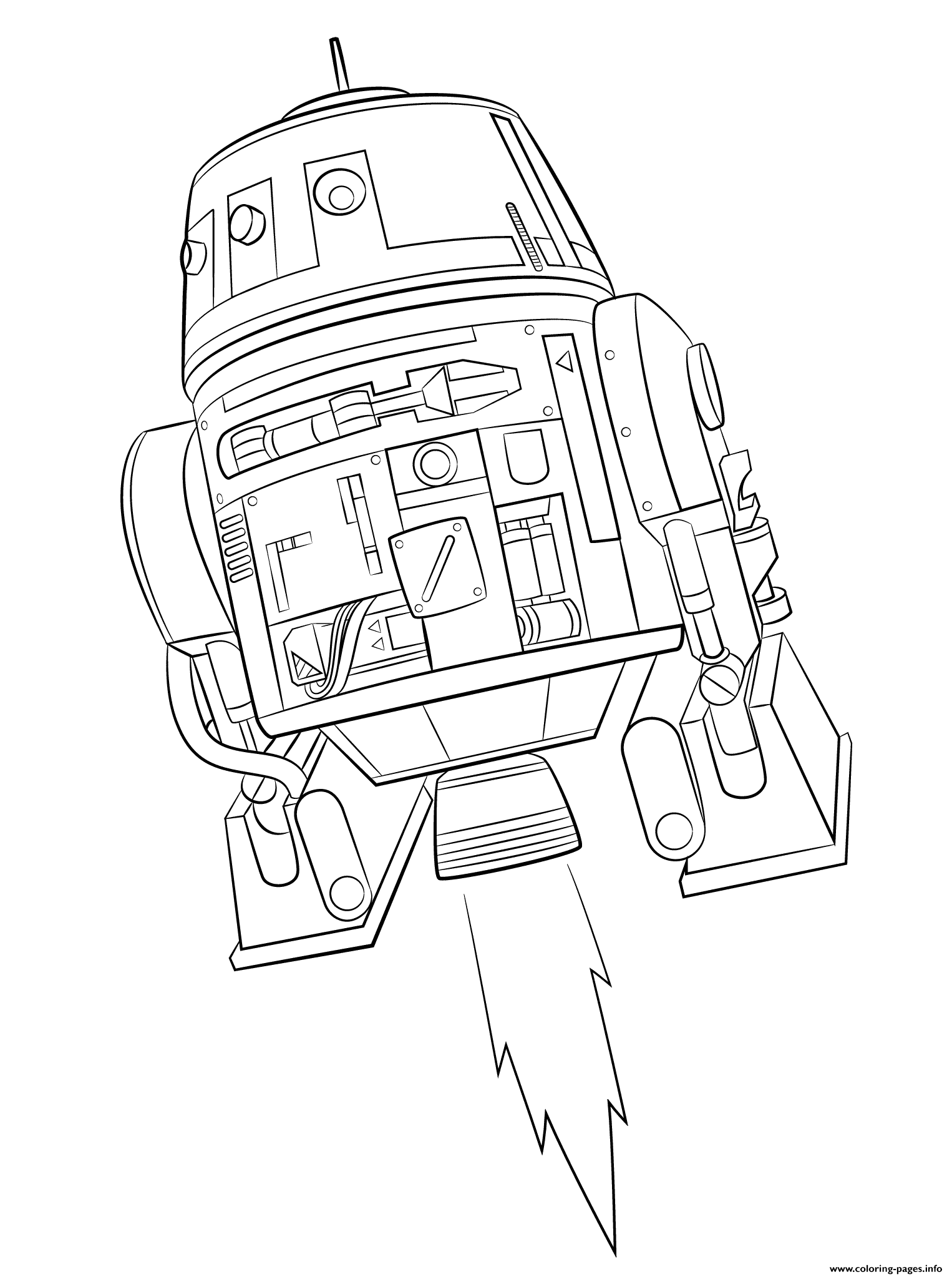 Star Wars Rebels Choppers coloring pages