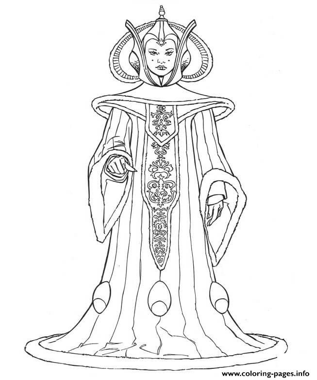 Character 9 Star Wars Episode II Attack Of The Clones coloring pages