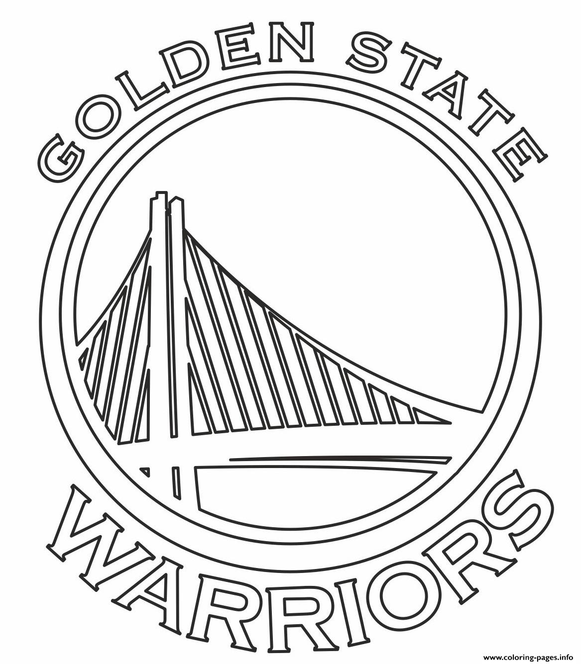 photograph about Warriors Printable Schedule named Nba Groups Brand Golden Nation Warriors Coloring Internet pages Printable