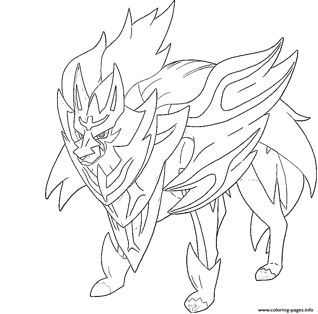 Legendary Pokemon Coloring Pages - AZ Coloring Pages | Pokemon ... | 1028x1041