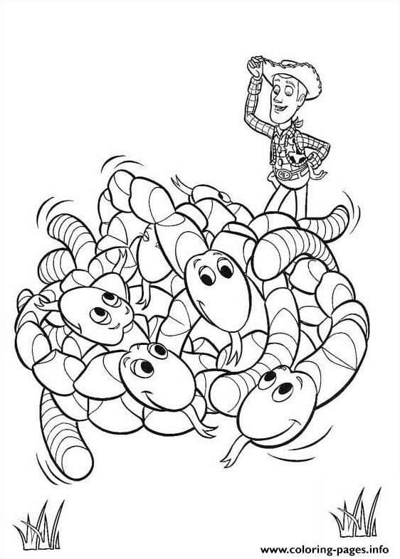 Worms coloring pages
